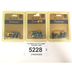 PACHMAYR 45 ACP DUMMY ROUNDS - NEW