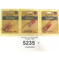 PACHMAYR .223 REM DUMMY ROUNDS - NEW