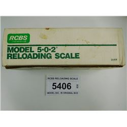 RCBS RELOADING SCALE