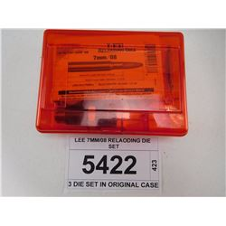 LEE 7MM/08 RELOADING DIE SET