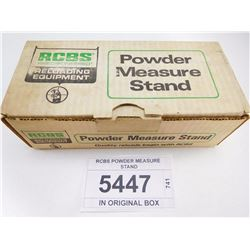 RCBS POWDER MEASURE STAND