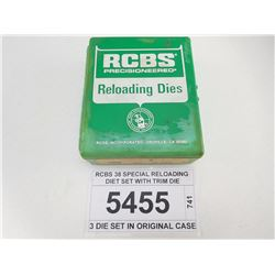 RCBS 38 SPECIAL RELOADING DIET SET WITH TRIM DIE