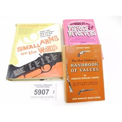 ASSORTED HARDCOVER FIREARMS BOOKS