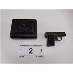 BROWNING , MODEL: BABY , CALIBER: 6.35MM
