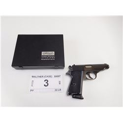 WALTHER , MODEL: PP , CALIBER: 22 LR