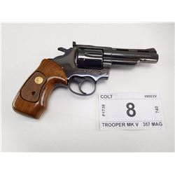 COLT , MODEL: TROOPER MK V , CALIBER: 357 MAG