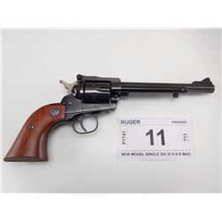 RUGER , MODEL: NEW MODEL SINGLE SIX , CALIBER: 32 H & R MAG