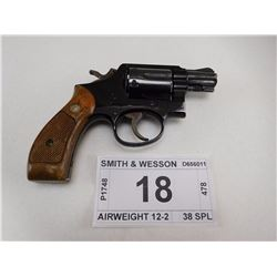 SMITH & WESSON , MODEL: AIRWEIGHT 12-2 , CALIBER: 38 SPL