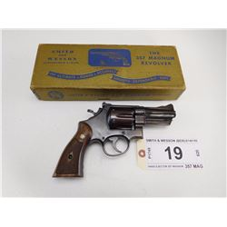 SMITH & WESSON , MODEL: HAND EJECTOR 357 MAGNUM , CALIBER: 357 MAG