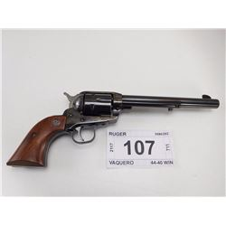 RUGER , MODEL: VAQUERO , CALIBER: 44-40 WIN
