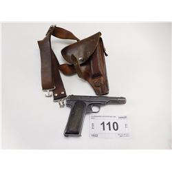 FN BROWNING , MODEL: 1922 , CALIBER: 380 CAL OR CAT 9MM COURTO