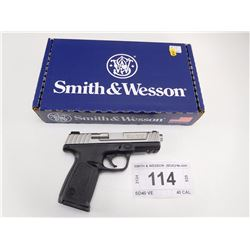 SMITH & WESSON , MODEL: SD40 VE , CALIBER: 40 CAL