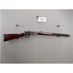 WINCHESTER , MODEL: 1873 3 RD MODEL SADDLE RING CARBINE , CALIBER: 38-40