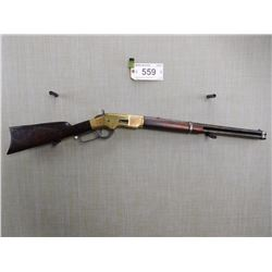 WINCHESTER , MODEL: 1866 3RD MODEL SADDLE RING CARBINE , CALIBER: 44 CF CONVERTED