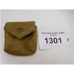 WWII ENFIELD MKVI AMMO POUCH