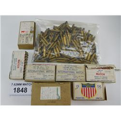 7.62MM MATCH, BRASS ONLY