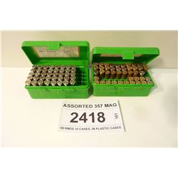 ASSORTED 357 MAG