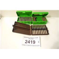 ASSORTED 38 SPECIAL SOME RELOADS