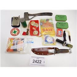 ASSORTED HUNTING/SURVIVAL GEAR