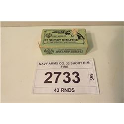 NAVY ARMS CO. 32 SHORT RIM FIRE