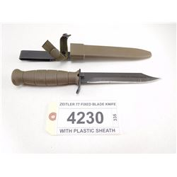 ZEITLER 77 FIXED BLADE KNIFE