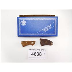 S&W BOX AND GRIPS