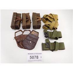 WEBBING & POUCHES