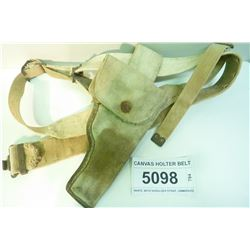 CANVAS HOLTER BELT
