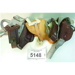 LEATHER SHOULDER HOLSTERS