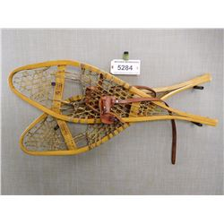 WOODEN SNOWSHOES