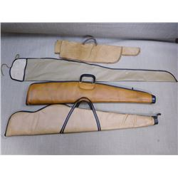 ASSORTED RIFLE CASES AND SLEEVES