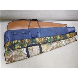 VINYL AND FABRIC PADDED RIFLE CASES