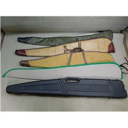 SOFT RIFLE CASES, ASST MATERIALS