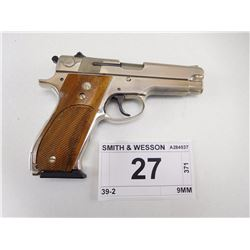 SMITH & WESSON , MODEL: 39-2 , CALIBER: 9MM