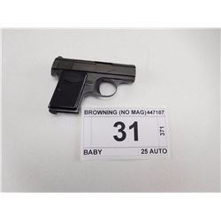 BROWNING , MODEL: BABY , CALIBER: 25 AUTO