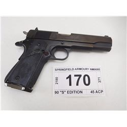 "SPRINGFIELD ARMOURY , MODEL: 1911 A1 90 ""S"" EDITION , CALIBER: 45 ACP"