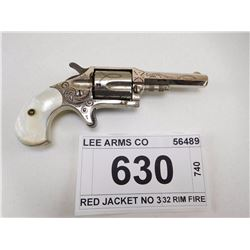 LEE ARMS CO , RED JACKET NO 3 , 32 RIM FIRE
