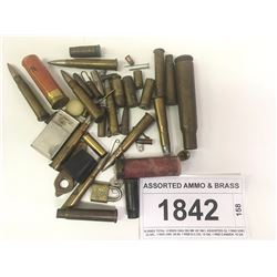 ASSORTED AMMO & BRASS