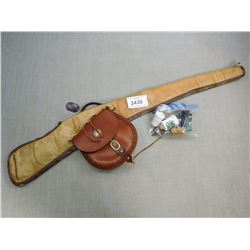 MUZZLE LOADING PACK & RIFLE BAG
