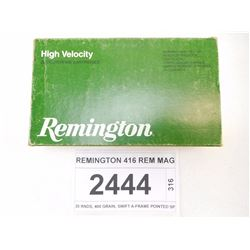 REMINGTON 416 REM MAG