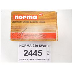 NORMA 220 SWIFT