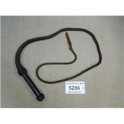 LEATHER BULL WHIP
