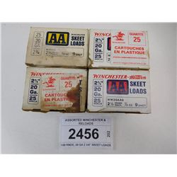 ASSORTED WINCHESTER & RELOADS