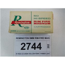 REMINGTON 5MM RIM-FIRE MAG