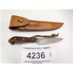 CANADIAN BELT KNIFE