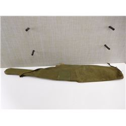 GREEN CANVAS RIFLE CASE