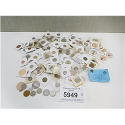ASSORTED COINS OF THE WORLD