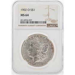1902-O NGC MS64 Morgan Silver Dollar