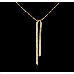 14KT Yellow Gold 1.98 ctw Diamond Necklace