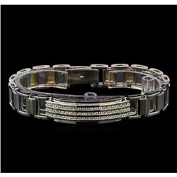 1.44 ctw Diamond Bracelet - 14KT White Gold